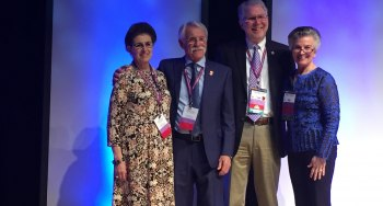 Luther Kloth, PT, MS, FAPTA, CWS, FACCWS 2018 Boswick Award Winner for Lifetime Achievement Awarded at the 2018 Symposium on Advanced Wound Care conference